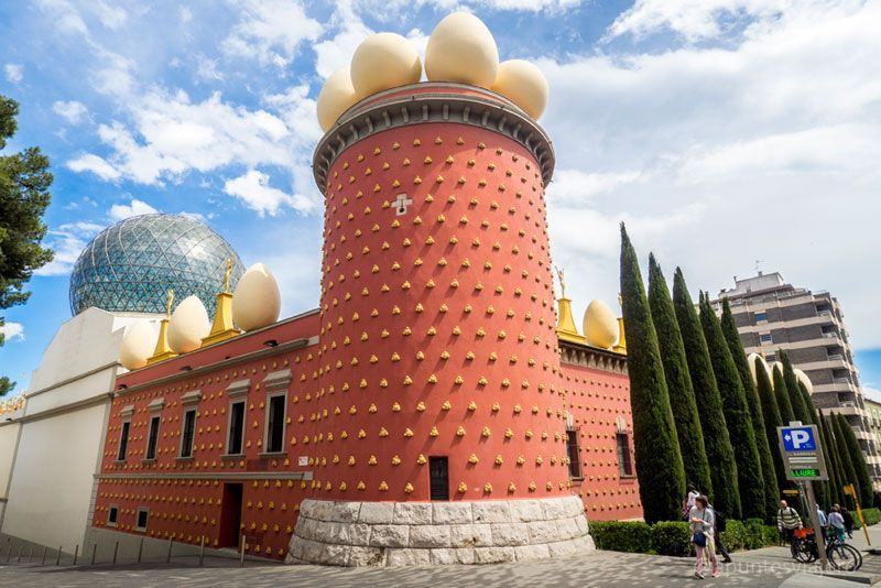 Torre Galatea - Museo Dalí - Figueres, Girona