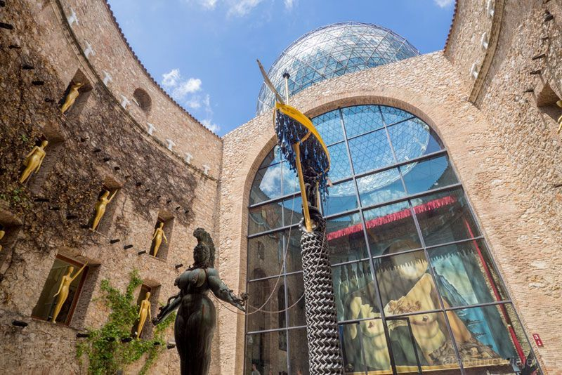 Visitar Museo Dalí - Figueres, Girona